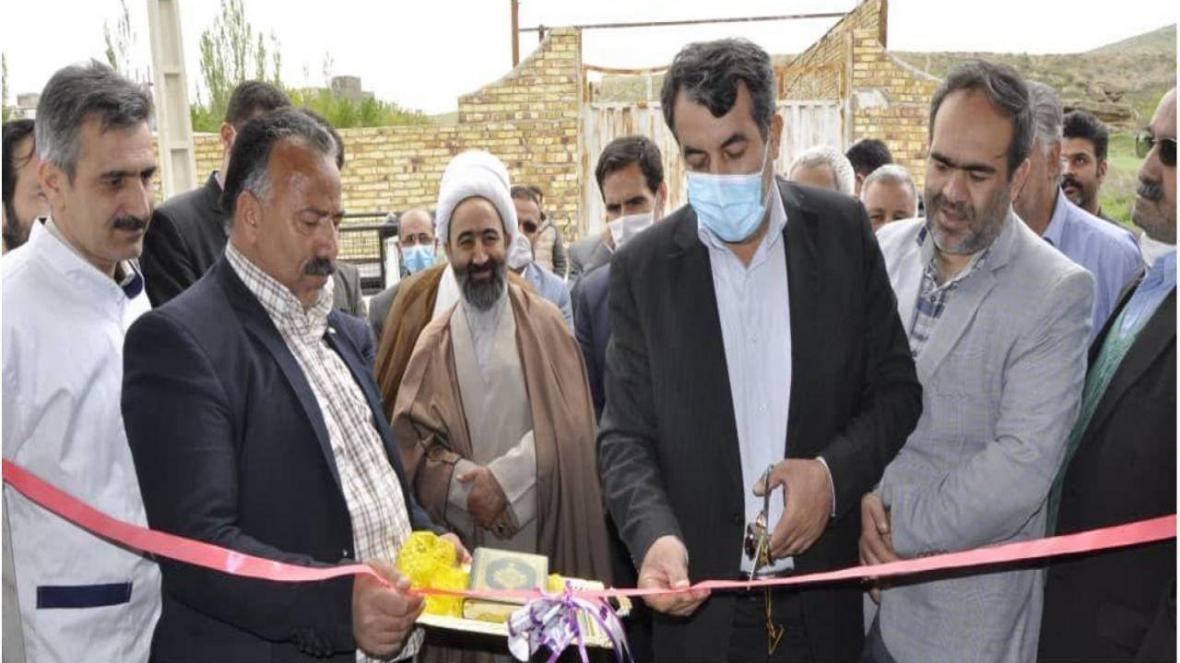 افتتاح کشتارگاه دام شهر آبگرم