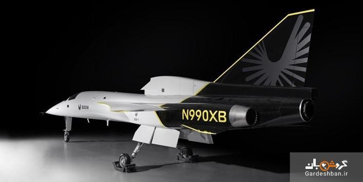 عکس، رونمایی از نمونه اولیه هواپیمای مافوق صوت